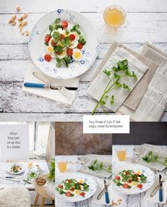 Homemade Backgrounds For Food and Still Life