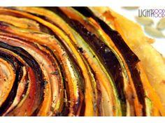 Tarta cu legumele - Over The Rainbow, Judy Garland Judy Garland, Over The Rainbow, Ratatouille, Good Food, Ethnic Recipes, Pie, Healthy Food, Yummy Food