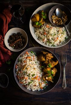 Mix and Stir: Bengali Style Fried Rice ( Ghee Bhat ) Veg Recipes, Indian Food Recipes, Asian Recipes, Vegetarian Recipes, Cooking Recipes, Healthy Recipes, Indian Foods, Indian Snacks, Cooking Tips