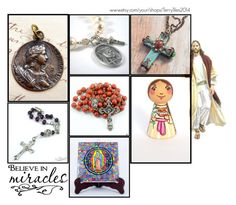 """Religious Art on Etsy by TerryTiles2014 - Volume 31"" by terrytiles2014 ❤ liked on Polyvore featuring interior, interiors, interior design, home, home decor, interior decorating and Sweet Romance"