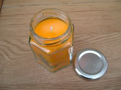 Aromatherapy Citronella Candle In A Jar, Good for Cold's   wowthankyou.co.uk £5