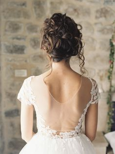 Sheer embroidered lace: http://www.stylemepretty.com/2016/02/03/bridal-trend-sexy-wedding-dress/