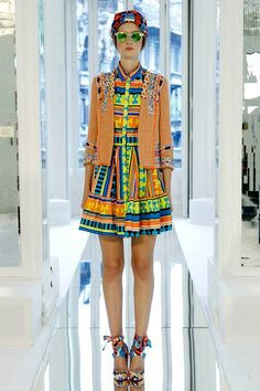 MSGM RTW Summer 2013- in need of some color on a grey day- great shades