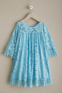 """""""Shop Chasing Fireflies for our Girls Dreamy Lace Dress. Browse our online catalog for the best in unique children's costumes, clothing and more. Stylish Dresses For Girls, Frocks For Girls, Little Girl Dresses, Simple Dresses, Girls Dresses, Girls Lace Dress, Dresses Dresses, Dance Dresses, Baby Dress"""
