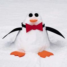Make a snow sculpture kit...