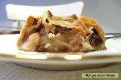 Strudel di mele light, ricetta passo passo