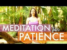 Meditation for Patience - How To Meditate for Beginners - You Have 4 Minutes - BEXLIFE - YouTube