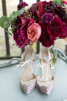 These champagne heels are everything   Ian's Chapel   Whim Floral   Eric and Jen Photography   Camp Lucy   Wedding Venue   Destination Weddings   Hill Country   Weddings   Wedding Inspiration  