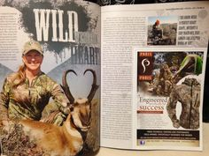 Oh yeah! Prois ladies are hitting the pages of two great hunting magazines! Prois Staffer Nancy Rodriguez in Eastmans and Prois Staffer Cindi Baudhuin in Western Hunter! Congratulations, ladies! #proiswasthere Check out our performance hunting gear for women at www.proishunting.com!