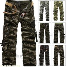 Aliexpress.com : Buy Wholesale Camouflage Cargo Pants for Men Long ...