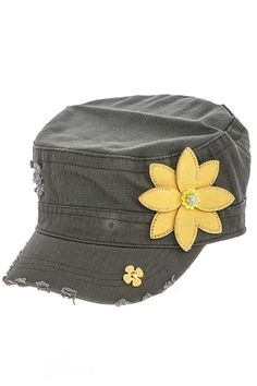 c753ab548 17 Best Military cap images | Military cap, Caps hats, Army style