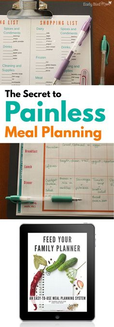 Your Family Planner With this easy system for meal planning, you can have your entire week all planned out in about 10 minutes!With this easy system for meal planning, you can have your entire week all planned out in about 10 minutes! Family Meal Planning, Budget Meal Planning, Family Meals, Planning Board, Group Meals, Family Planner, Meal Planner, Freezer Meals, Easy Meals