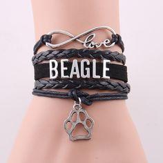 Infinity Love BEAGLE Bracelet