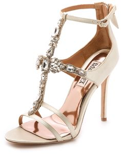Badgley Mischka Giovana T Strap Sandals http://www.shopstyle.com/action/loadRetailerProductPage?id=467823544&pid=uid7609-25959603-56