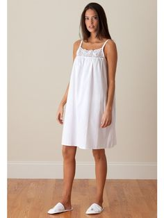 d766632a2 You can never have too many cotton nighties! Get the Jenn ladies nightgown  today for you