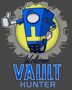 Borderlands / Fallout Mashup - Welcome Vault Hunter