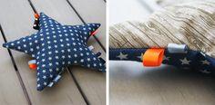 DIY stjerne baby legetøj.