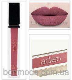 Aden помада матовая жидкая суперстойкая Aden Liquid Lipstick 06 Chocolate № 6, фото 1