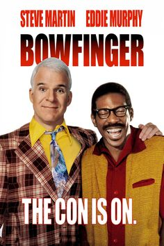 Enjoy The Fun With Eddie Murphy And Steve Martin Together For The First Time In The Hit Comedy Bowfinger. How does Bobby Bowfinger (Steve Martin), Hollywood's least successful director, get Kit Ramsey (Eddie Murphy), Hol Heather Graham, Hollywood Stars, Hollywood Fashion, Hollywood Actresses, Steve Martin Movies, Eddie Murphy Movies, Trailers, Science Fiction, Frank Oz