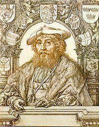 Christian II of Denmark, engraving by Jan Gossaert  Kristian II (1481–1559), tanskalaissyntyinen kuningas, oli Tanskan, Norjan ja Ruotsin kuningas Kalmarin unionin aikana. Hän oli Tanskan kuninkaan Juhanan ja Saksin Kristiinan poika.