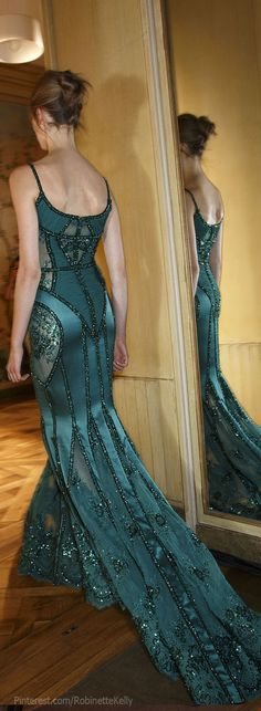 Zuhair Murad Haute Couture~'Latest Luxurious Women's Fashion - dresses, shoes, bags... when i get skinny can i have this?