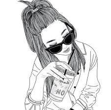 Bildergebnis für tumblr girls drawing