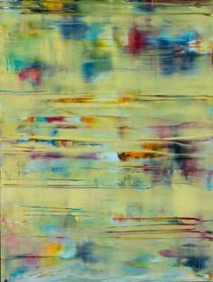 Pastel Yellow Reflections - SOLD