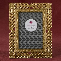 Magnificent Gold Lattice 4 X 6 Frame From Fashioncraft- Welcome your guests to their seats with a stunning frame showcasing the table number. It sets the tone for a lavish event! This beautiful frame is made from poly resin and features a exquisitely Mirrored Picture Frames, Antique Picture Frames, Picture Frames Online, Antique Pictures, Picture Frame Sets, Picture Sizes, Picture Design, Decoration, Holiday Decor