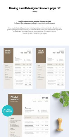 invoice estimation templates stationery templates pinterest templates invoice template and invoice design