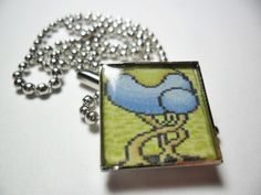 Video game pendant Paladins Quest tree pendant by ReturnersHideout, $12.50