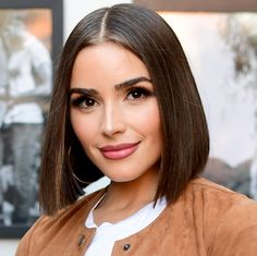 10 Celebrity Bobs That Will Make You Want to Go Short - Olivia culpo from InStyle.com