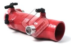 Perrin Turbo Inlet Hose Red Subaru WRX 2002-2007 / STI 2004-2013 / Forester XT 2004-2008 PSP-INT-401RD at RallySportDirect.com