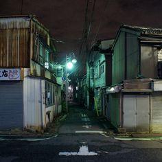 夜散歩のススメ「千住大川町の路地」東京都足立区