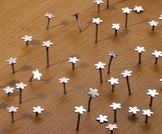 Blumennägel - klasse Idee