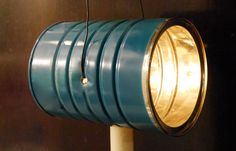 "DIY Coffee Can ""Redneck Flashlight"" or Homemade Lantern"