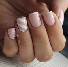 Nails gel, we adopt or not? - My Nails Simple Acrylic Nails, Best Acrylic Nails, Simple Nails, Stylish Nails, Trendy Nails, Cute Nails, Pink Nails, My Nails, Nagellack Design