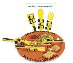Coolest plate and fork set EVER