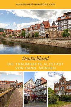 Die Drei-Flüsse-Stadt Hann. Münden besitzt eine traumhafte Altstadt mit unzähligen Fachwerkhäusern und Prachtbauten der Weser-Renaissance. Hier findest du die Must-Sees in der historischen Innenstadt. Städtetrip Deutschland, Reisen in Deutschland, Fachwerkliebe