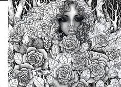 Rose garden by ~vikachaeeta on deviantART