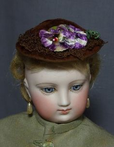 French Fashion Doll Original Hat | eBay