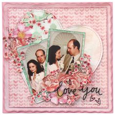 Layouts & Photos from January 2015 Crop Arts And Crafts, Paper Crafts, Wedding Scrapbook, Scrapbooking Layouts, Book Layouts, Cherry Blossom, Projects To Try, Card Making, Cards