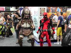 Deadpool vs Comic-Con 2012