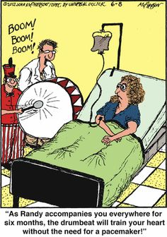 A laugh for those of us who have pacemakers, ICD's and CRT'S!  LOL