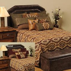 Create An Authentic Looking Southwestern Bedroom With Our Stone Mill Bedding Collection