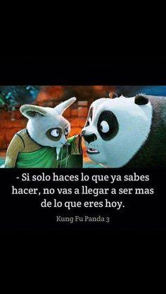 Kun fu panda 3 frase