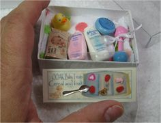 ooak polymer clay baby set for 5 to 7 inch baby bath by laurib1