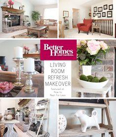 Living Room Refresh Makeover On A Budget Walmart Home Decor Diy