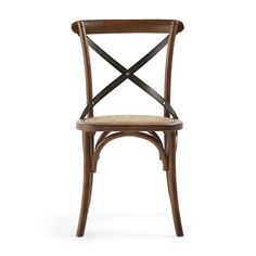 Cadence Dining Side Chair in Barnwood Brown