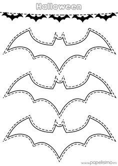 Platilla-murcielagos-Halloween-colorear-y-recortar-guirnalda-de-papel