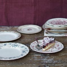 Not Your Grandma's Vintage Dessert Plates set of 4 by elsiegreenhh